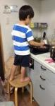 2歳で包丁