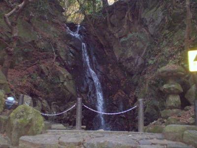 交野山 源氏の滝