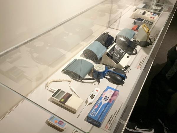 オムロン コミュニケーションプラザ 体温計