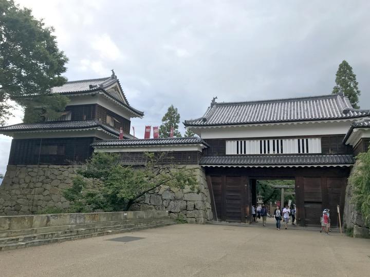上田城 東虎口櫓門、南櫓