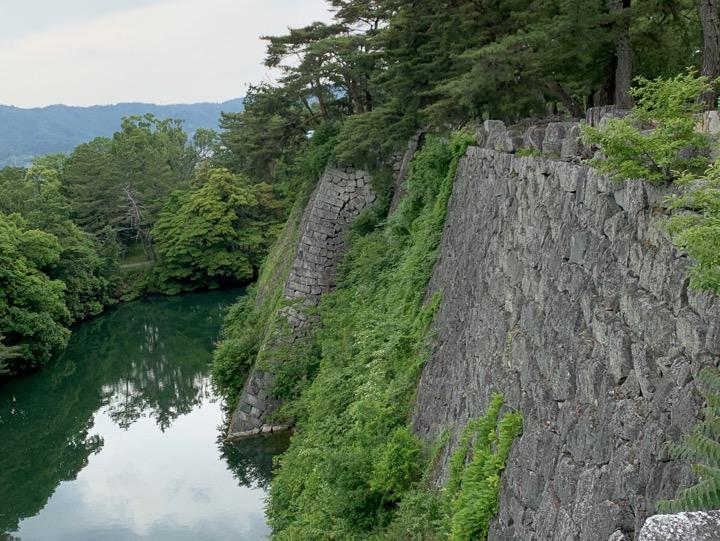 伊賀上野城 高石垣