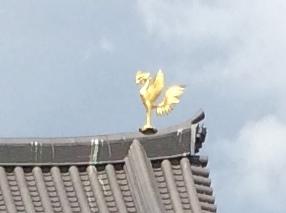 平等院 鳳凰堂の屋根