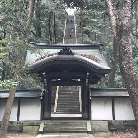 豊国廟 登り口