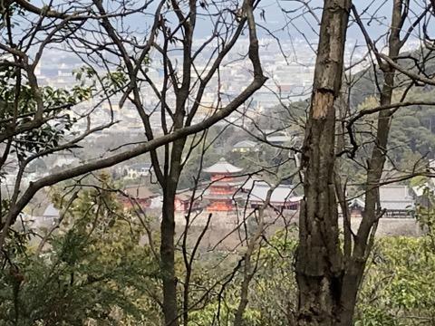 豊国廟 からの清水寺