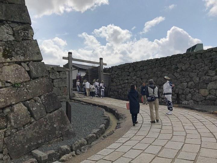 篠山城鉄門跡