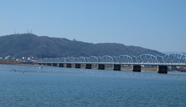 公立中高一貫校 旧吉野川橋